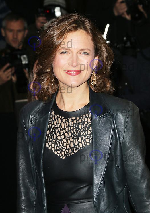 Katie Derham, London Evening Standard Theatre Awards, The Savoy Hotel, London UK, 17 November 2013, Photo by Richard Goldschmidt