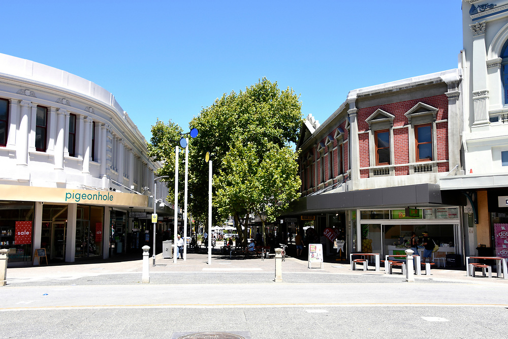 Shops in the City Center of Freemantle