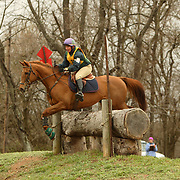 Sarah Cousins (USA) and Top Deck at the Morven Park Spring Horse Trials held in Leesburg, Virginia