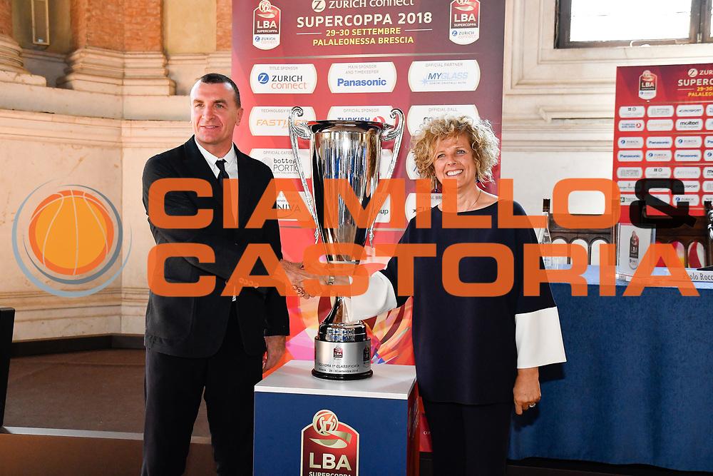 proli bragaglio<br /> presentazioe supercoppa 2018<br /> Legabasket Serie A 2018/19<br /> Brescia, 24/09/2018<br /> Ciamillo-Castoria