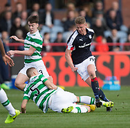 Celtic&rsquo;s Jozo Simunovic tackles Dundee&rsquo;s Mark O&rsquo;Hara - Dundee v Celtic in the Ladbrokes Scottish Premiership at Dens Park, Dundee.Photo: David Young<br /> <br />  - &copy; David Young - www.davidyoungphoto.co.uk - email: davidyoungphoto@gmail.com