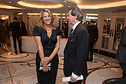 TRACEY EMIN; MELVYN BRAGG, The Sky South Bank Arts Awards, Dorchester Hotel , Park Lane, London. 1 May 2012.