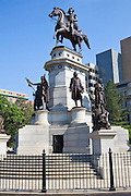 Washington Memorial of President George Washington and famous Virginians, Richmond, USA