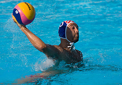 Samir Barac of Croatia during waterpolo Semifinal Round match between National teams of Croatia and Serbia during the 13th FINA World Championships Roma 2009, on July 30, 2009, at the Stadio del Nuoto,  Foro Italico, Rome, Italy. Serbia won 12:11. (Photo by Vid Ponikvar / Sportida)