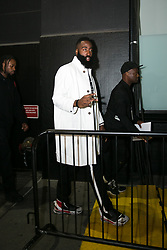 September 12, 2018 - New York, New York, United States - James Harden attends Calvin Klein show during New York Fashion Week on September 11, 2018 in New York City. (Credit Image: © Oleg Chebotarev/NurPhoto/ZUMA Press)