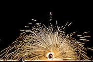fire show, banyan tree, lamai, koh samui, thailand