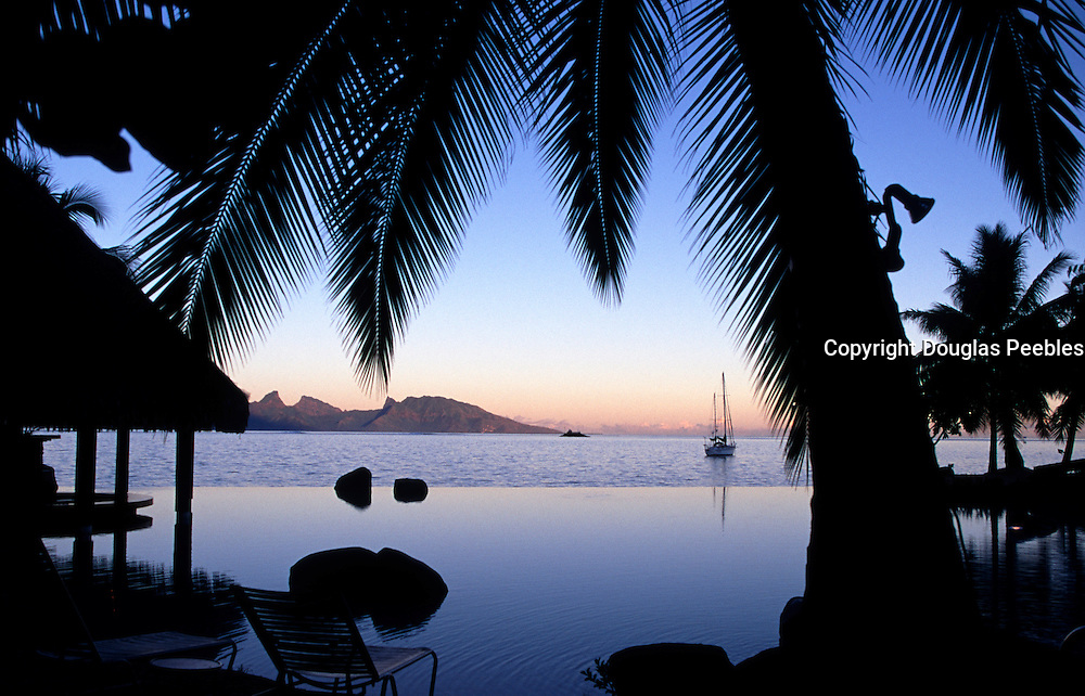 Beachcomber Hotel, Papeete, tahiti, french Polynesia<br />