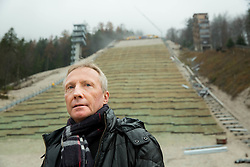 FIS Ski Jumping Race Director Walter Hofer  at visit of FIS representatives to inspect reconstruction of Planica's Ski Flying Hill, on November 11, 2014 in Planica Nordic centre, Slovenia. Photo by Vid Ponikvar / Sportida