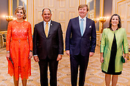 11-5-2017 THE HAGUE - King Willem-Alexander and Queen Maxima receive President Luis Guillermo Sol&iacute;s Rivera from Costa Rica and Ms Pe&ntilde;as. Subsequently, they offer a presidential couple a lunch. COPYRIGHT ROBIN UTRECHT<br /> <br /> 11-5-2017 DEN HAAG - Koning Willem-Alexander en Koningin Maxima ontvangen president Luis Guillermo Sol&iacute;s Rivera van Costa Rica en mevrouw Pe&ntilde;as. Aansluitend bieden zij het presidenti&euml;le paar een lunch aan. COPYRIGHT ROBIN UTRECHT