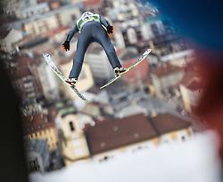 03.01.2014, Bergisel Schanze, Innsbruck, AUT, FIS Ski Sprung Weltcup, 62. Vierschanzentournee, Training, im Bild Krzysztof Biegun (POL) // Krzysztof Biegun (POL) during practice Jump of 62nd Four Hills Tournament of FIS Ski Jumping World Cup at the Bergisel Schanze, Innsbruck, <br /> Austria on 2014/01/03. EXPA Pictures © 2014, PhotoCredit: EXPA/ JFK
