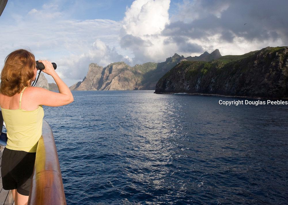 Coastline, Ua Po, Marquesas, French Polynesia<br />