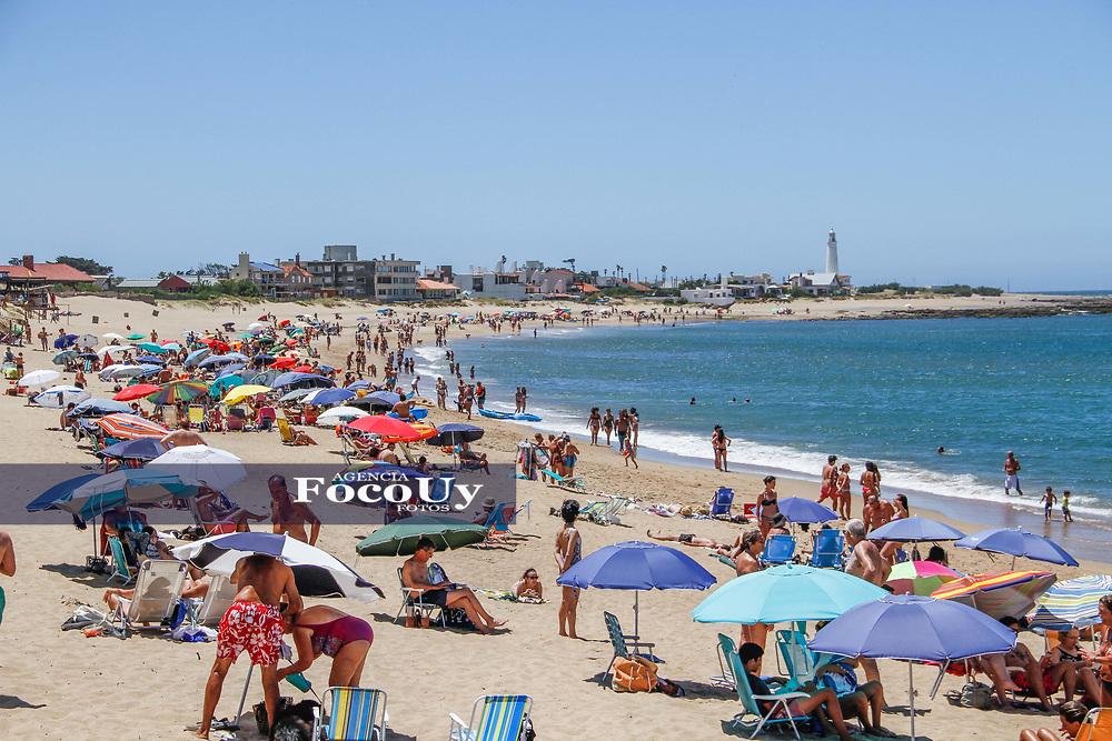 Rocha,  Uruguay. 11 de Enero de 2018.  <br /> Balneario La Paloma. Playa La Balconada.<br /> <br /> Foto: Gast&oacute;n Britos / FocoUy