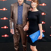 NLD/Amsterdam/20150626 - Dance4life's Funky Fundraiser 2015, Vincent Bijlo en VIVA hoofdredactrice Vivianne Bendermacher