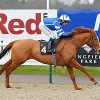 Norwegian Reward and Jim Crowley winning the 2.00 race