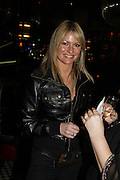 Angie Best, Spring party at Frankie Dettori's bar and Grill. 3 Yeoman's Row. London sw3. 10 April 2006. ONE TIME USE ONLY - DO NOT ARCHIVE  © Copyright Photograph by Dafydd Jones 66 Stockwell Park Rd. London SW9 0DA Tel 020 7733 0108 www.dafjones.com
