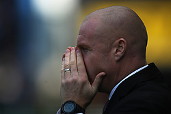 Burnley manager Sean Dyche - Mandatory by-line: Jack Phillips/JMP - 14/04/2018 - FOOTBALL - Turf Moor - Burnley, England - Burnley v Leicester City - English Premier League