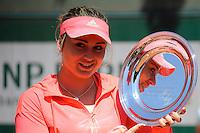 Paula BADOSA GIBERT  - 06.06.2015 - Jour 14 - Roland Garros 2015<br />Photo : Nolwenn Le Gouic / Icon Sport