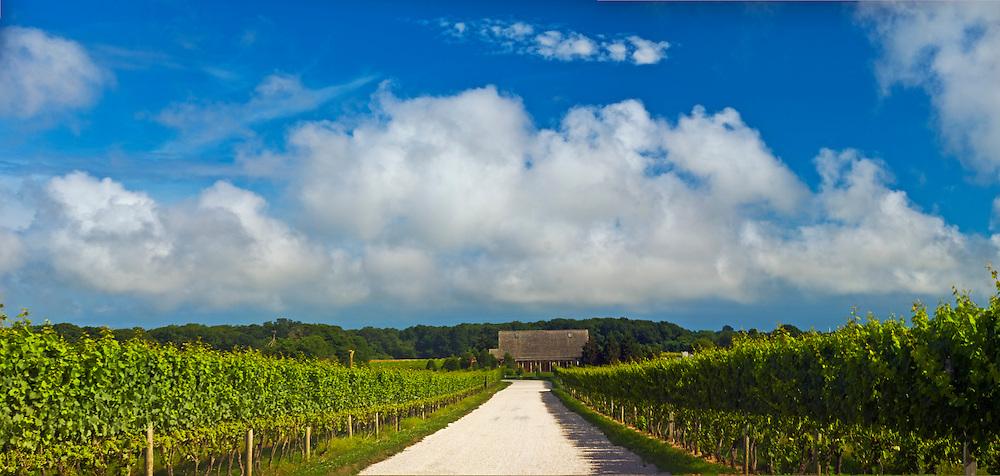 Channing Daughters Winery, dirt road, Barn, lNew York, Bridgehampton, Long Island, South Fork