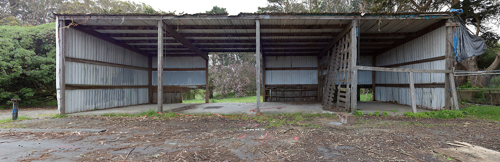 Old Horse Stables in Golden Gate Park. (25905 x 8388 pixels)