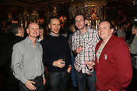 The Critics Drinks, Cafe Royal, London.<br /> Monday 18,11, 2013 (Photo/John Marshall JME)