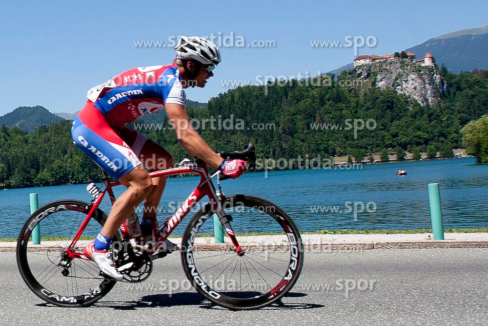 GNEZDA Matej of KK Adria Mobil during 3rd Stage (219 km) at 19th Tour de Slovenie 2012, on June 16, 2012, in Ivancna Gorica, Slovenia. (Photo by Urban Urbanc / Sportida.com)