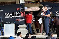 Mobile screening clinic, Bali, Indonesia.