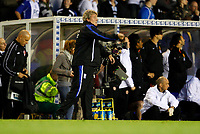Photo: Richard Lane/Sportsbeat Images.<br />Birmingham City v Manchester United. The FA Barclays Premiership. 29/09/2007. <br />City's manager, Steve Bruce urges on his team.