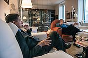 Mario Andreose e Umberto Eco, Milano dic.2015