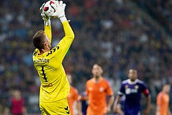 Allan McGregor of FC Rangers during 2nd Leg football match between NK Maribor and Rangers FC in 3rd Qualifying Round of UEFA Europa League 2018/19, on August 16, 2018 in Stadion Ljudski vrt, Maribor, Slovenia. Photo by Urban Urbanc / Sportida