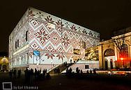 Leopold Museum, MQ, Museumsquartier, Winter im MQ, Weihnachtsmarkt in Wien, Österreich, Wien