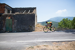 Janneke Ensing (NED) of Ale-Cipollini Cycling Team descends on Stage 8 of the Giro Rosa - a 141.8 km road race, between Baronissi and Centola fraz. Palinuro on July 7, 2017, in Salerno, Italy. (Photo by Balint Hamvas/Velofocus.com)