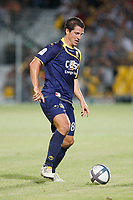 FOOTBALL - FRENCH CHAMPIONSHIP 2010/2011 - L1 - AC ARLES AVIGNON v RC LENS - 14/08/2010 - PHOTO PHILIPPE LAURENSON / DPPI - YANN KERMORGANT (ACA)