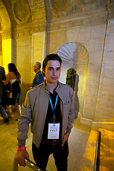 """Director Alexander Bocchieri, creator of """"Go For Broke,"""" poses for a photo at the Gala for the CAAM Film Festival, at the Asian Art Museum, Thursday, May 10, 2018 in San Francisco, Calif. (D. Ross Cameron/SF Chronicle)"""