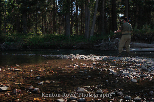 Flyfishing the Blackfoot River