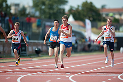 SHVETCOV Evgenii, RUS, 100m, T36, 2013 IPC Athletics World Championships, Lyon, France