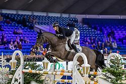 Brinkop Kendra Claricia, GER, Bakogan de ST Jean<br /> Jumping Mechelen 2019<br /> © Hippo Foto - Martin Tandt<br />  27/12/2019