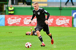 Luka Bobicanec of NS Mura during football match between NS Mura and NK Aluminij in 6th Round of Prva liga Telekom Slovenije 2018/19, on August 26, 2018 in Mestni stadion Fazanerija, Murska Sobota, Slovenia. Photo by Mario Horvat / Sportida