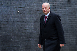 © Licensed to London News Pictures. 13/03/2018. London, UK. Transport Secretary Chris Grayling on Downing Street for the Cabinet meeting. Photo credit: Rob Pinney/LNP