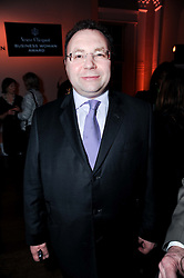 JONATHAN SHALIT at the presentation of the Veuve Clicquot Business Woman Award 2010 held at the Institute of Contemporary Arts, 12 Carlton House Terrace, London on 23rd March 2010.  The winner was Laura Tenison - Founder and Managing Director of JoJo Maman Bebe.