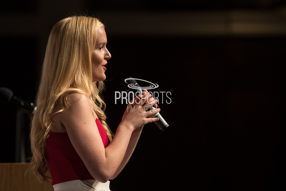 Georgia Anderson during the National League Gala Awards at Celtic Manor Resort, Newport, United Kingdom on 8 June 2019.