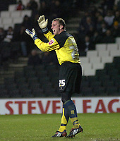 Photo: Matt Bright/Sportsbeat Images.<br /> Milton Keynes Dons v Accrington Stanley. Coca Cola League 2. 08/12/2007.<br /> Ian Dunbavin of Acrington