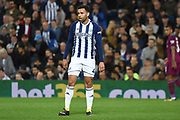 West Bromwich Albion striker Hal Robson-Kanu (4) 0-1 during the EFL Cup match between West Bromwich Albion and Manchester City at The Hawthorns, West Bromwich, England on 20 September 2017. Photo by Alan Franklin.