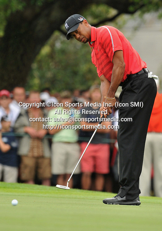 24 March 2013: Tiger Woods during the final round of the Arnold Palmer Invitational at Arnold Palmer's Bay Hill Club & Lodge in Orlando, Florida.