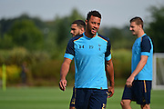 Moussa Dembele during Tottenham Training Session at Tottenham Training Centre, Enfield, United Kingdom on 13 September 2016. Photo by Jon Bromley.