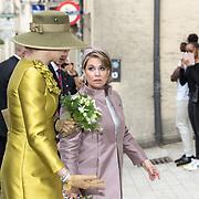 LUX/Luxemburg/20180523 - Staatsbezoek Luxemburg dag 1, Groothertogin Maria Teresa, en Koningin Maxima