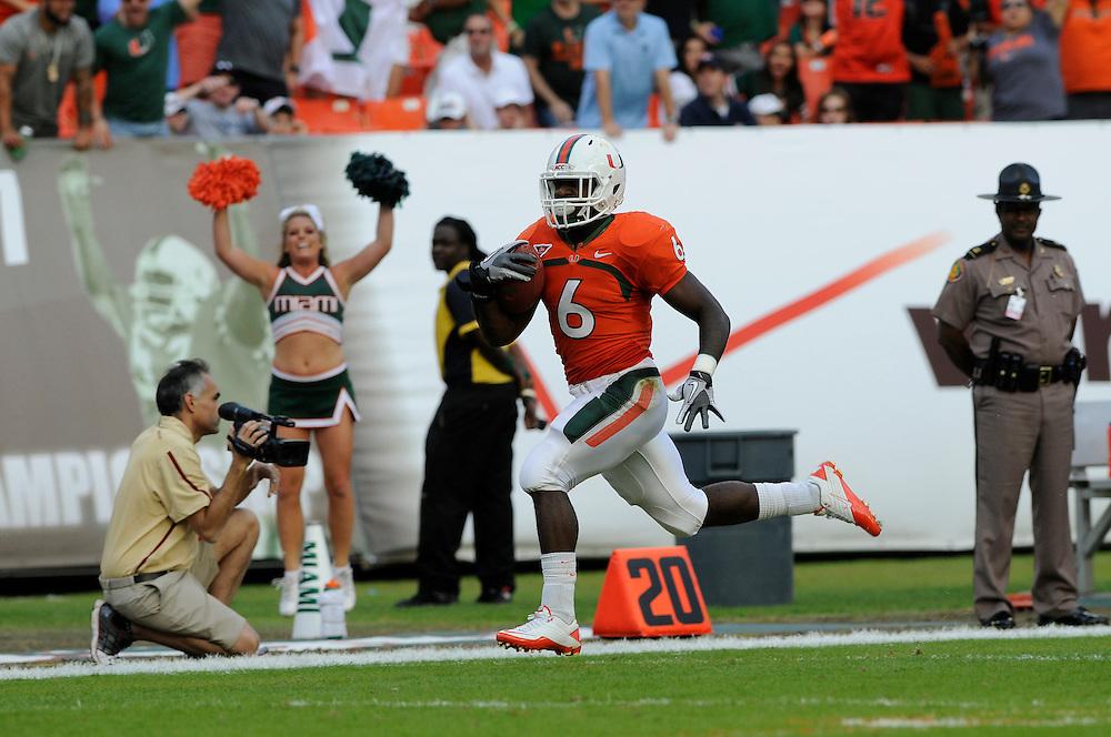 2011 Miami Hurricanes Football vs Boston College