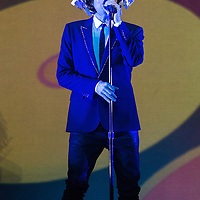 Pet Shop Boys in concert at The Clyde Auditorium, Glasgow Scotland, Great Britain 21st February 2017