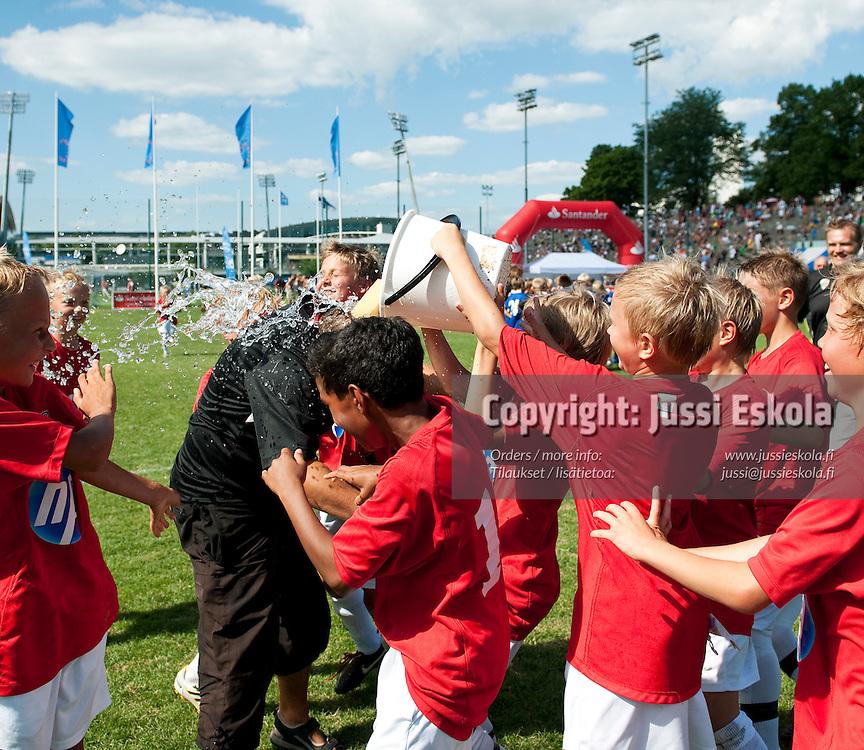 B11 KäPa. Helsinki Cup. Finaalit. 17.7.2010. Photo: Jussi Eskola