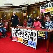 Jeremy Corbyn MP, Nahella Ashraf, Michelline Ngongo, Jacek Szymanski, Ali Ghaderi