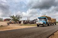 Shipping sugar cane near Jesus Menendez, Las Tunas, Cuba.